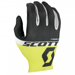 Велоперчатки Scott RC Team LF Glove black/sulphur yellow
