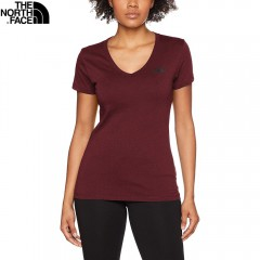 Женская футболка The North Face Simple Dome Tee barolo red