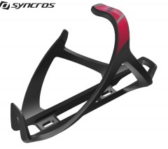Флягодержатель Syncros Tailor Cage 2.0 Left black/berry red