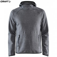 Craft Emotion Hood Sweatshirt 1905786 серый