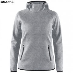 Craft Emotion Hood Sweatshirt 1905787 серый