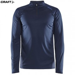 Craft Eaze LS Half Zip Tee 1907743 синий