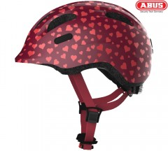 Детский шлем ABUS Smiley cherry heart