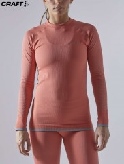 Craft ADV Warm Fuseknit Intensity LS Wmn 1909735 оранж