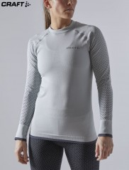 Craft ADV Warm Fuseknit Intensity LS Wmn 1909735 серый